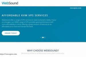 WebSound – 50%  Off Semi-Dedicated KVM VDS – DDoS防护 – 洛杉矶 & Netherlands位置