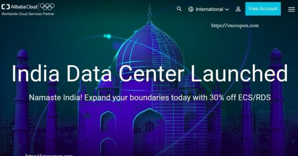 Alibaba Cloud – SSD 云服务器 提供 – India 数据中心 Launched (优惠30%)