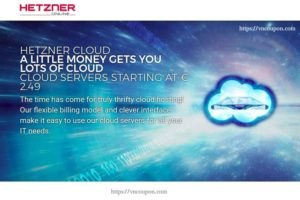 Hetzner Cloud – High Quality & Unbeatable Price 最低 €2.49