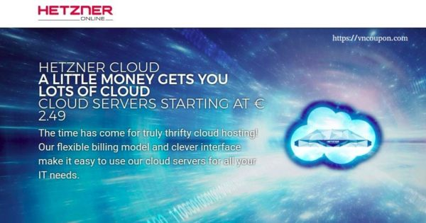 Hetzner Cloud – High Quality & Unbeatable Price 最低 €2.49