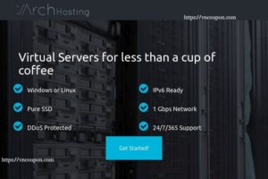 Arch Hosting – 2GB KVM VPS Exclusive 最低 $6每月 – 终身优惠25% on any Netherlands VPS