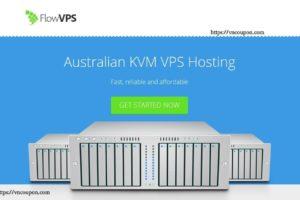 FlowVPS – Cheap Australian NVMe KVM VPS from $3.5 USD每月