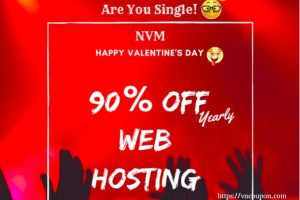 HostSailor Crazy Deals – 优惠券 & 优惠码 2019年 – Happy valentine's day 90%折扣..!!