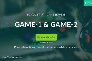 OVH So You Start – 优惠30% Dedicated Game Servers Promo