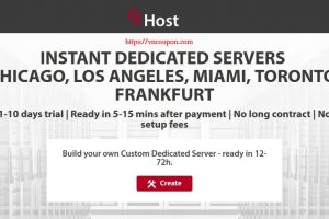 GTHost – 最高优惠30% Powerful Instant Servers 最低 $54每月