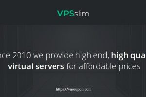VPSslim – 优惠50% KVM VPS from €4.99每月 – 限时 stock