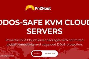PNZHost – 特价机 KVM VPS  from 512MB 内存 $15每年 in 美国
