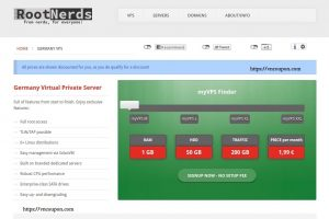 RootNerds – EUROPE VPS & Reseller VPS from €1.99每月