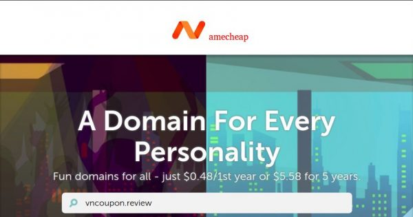 Namecheap cheapest TLD – lifestyle, Business & Finance 域名 Name for $0.48