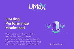 UMaxHosting – 特价机 OpenVZ VPS 最低 $12每年 in 洛杉矶