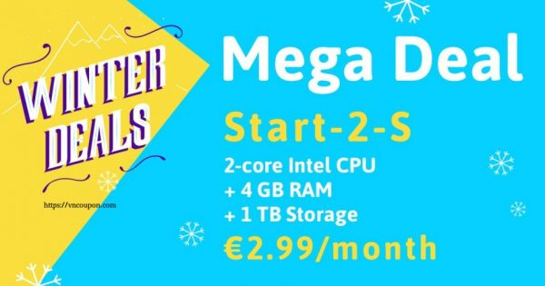 Online.net Server Specials Offer – Intel 独服 Start-2-S with 4 GB 内存 at €2.99