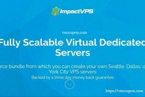 Impact VPS – NVMe SSD KVM VPS Launch! 50%折扣 2GB 内存 KVM 仅 $3.5每月