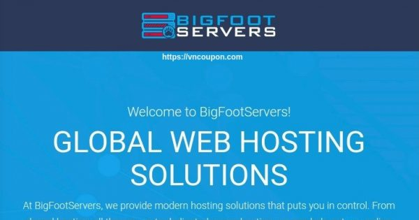 BigFootServers – Pooled Resource VPS 最低 $30每年 in 洛杉矶 & Dallas
