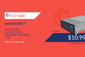 Kimsufi OVH – 特价机 独服 from €3.99每月 – Servers KS-7 Flash Sale 8GB 内存 仅 €8.99
