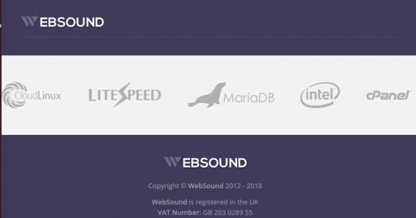 WebSound – 优惠40% KVM VPS – 免费DDos防护 in 洛杉矶
