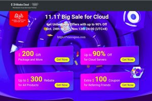 [11.11 Deals] Alibaba – The Biggest Deals of the Year – 最高优惠90% on 云服务器 – 优惠券 Worth 最高$500