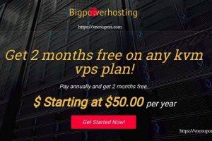 BigPowerHosting – 优惠55%永久 KVM VPS – DDOS防护