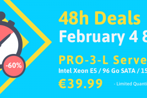 Online.net Server Specials Offer – 48h Deals – Get 优惠60% on PRO-3-L – Intex Xeon E5/ 96GB SATA / SSD