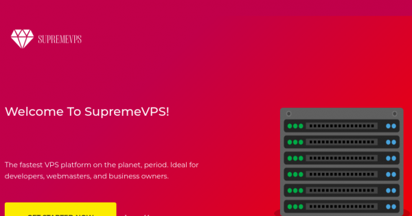 [Flash Sale] SupremeVPS – 4GB内存特价机 KVM VPS 仅 $40每年 – SSD Powered!