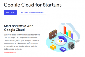 Get 最高$100,000 worth of Google Cloud Platform credit for your startup