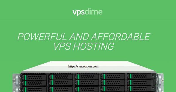 VPSDime – Cheap 大内存 VPS – 6GB RAM/ 4 vCPU/ 30GB SSD/ 10Gbps Uplink 最低 $7每月