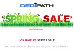 [Spring Dealpolooza] DediPath – Last Chance To Save Big – 优惠60% VPS & 优惠30% Hybrid Servers