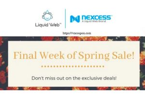 [Spring Sale] Liquid Web – Get 优惠50% VPS