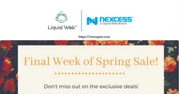 [Spring Sale] Liquid Web – Get 优惠50% VPS