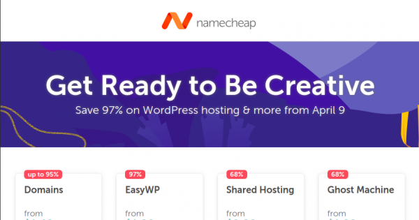 Namecheap 优惠券 & 优惠码 for May 2019 –  欧洲Day with a 特价机 price on 10-year registration of a .eu 域名