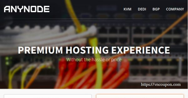 anyNode – VPS from $12.50每年, Resource Pools 最低 $12每年, 独服 最低 $50每月 in 洛杉矶 & Miami