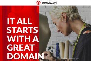 域名.com 优惠券 on 十二月2019 – 仅 $7.49每年 .COM & $9.74 .NET 域名 Registration