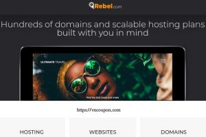 Rebel 优惠券 & 优惠码 for 八月2019 – Get $4 Off .COM 域名 –  Get 优惠50% Managed WordPress Packages