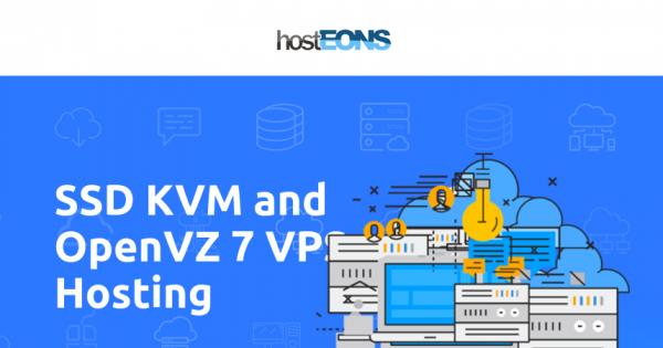 hostEONS – Gigabit KVM VPS 最低 $21 每年 – 4 US位置