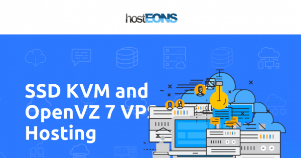 hostEONS – 最高优惠50% on KVM、OpenVZ VPS – 免费Direct Admin 控制面板 –  unmetered traffic – RAID 10 SSD