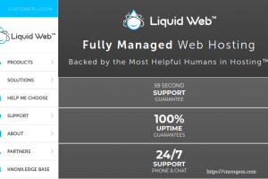[Spooky Sale] Liquid Web – 节省 40% on All Hosting套餐