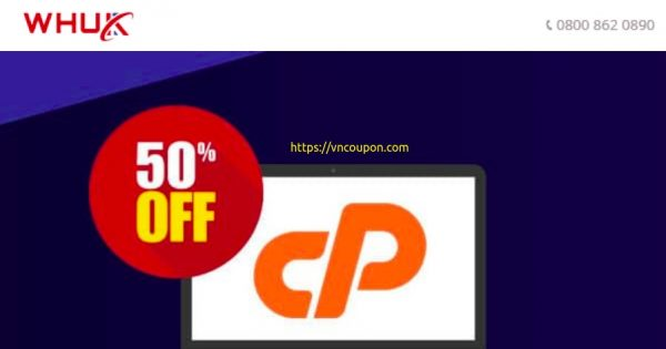 WebHosting UK – Cheap WordPress Hosting 最低 0.99英镑每月 –  Get 优惠50% 优惠券