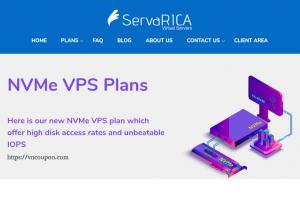 ServaRICA – 6GB内存& 80GB NVMe VPS 仅 $7每月