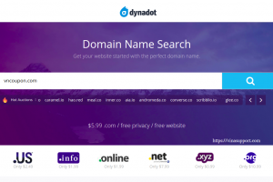 Dynadot 优惠券 & 优惠码 on 七月2020 – Get a .COM for 仅 $6.99, now with 免费privacy!
