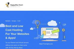 HappyBee Host – OpenVZ & KVM VPS starting at $1.5每月