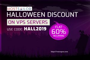 [Halloween 2019] HostSailor Crazy Deals – 优惠券 & 优惠码 2019年 – 优惠60% on all servers, SSD hosting, VPS