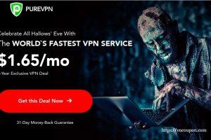 [Halloween 2019] PureVPN – Get 优惠85% on 5-year plan