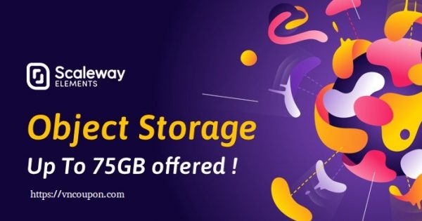 Scaleway Object Storage – The First 75 GB Storage are offered! afterward it is 仅 €0.01GB每月