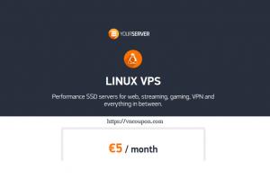Yourserver.se – Unmetered KVM VPS 最低 $5每月 in Latvia
