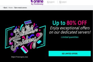 [黑色星期五 2019] Online.net – Deals 最高优惠80%