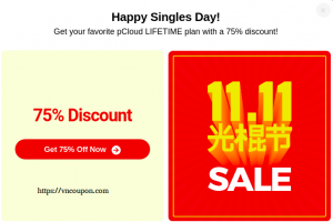 [Singles Day 11.11] pCloud – 优惠75% Premium Cloud Storage Plan