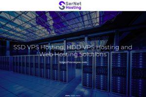 SerNet Hosting – 特价机 KVM VPS 最低 $4每月 – 2GB内存/ 100GB HDD / 无限 流量