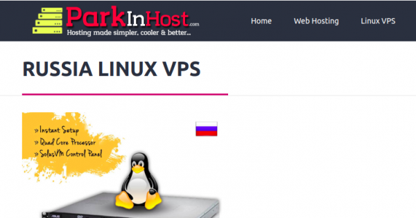 [New Year 2020] Parkinhost – 优惠50%  Unmetered Russia VPS 仅 $64.96每年