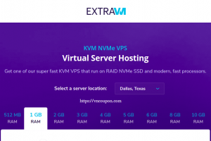 ExtraVM – Ryzen KVM VPS 最低 $5每月 in Moscow, Russia