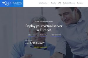 IllyHosting – 1GB内存VPS 仅 1€每月 (First Month)