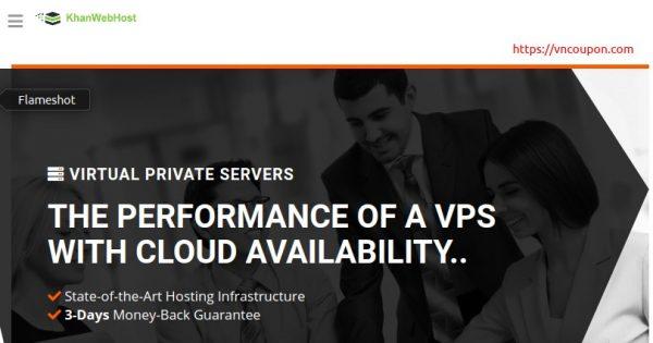 Khan Web Host – 特价机 SSD VPS 最低 $6每月 – 多机房 + 大硬盘